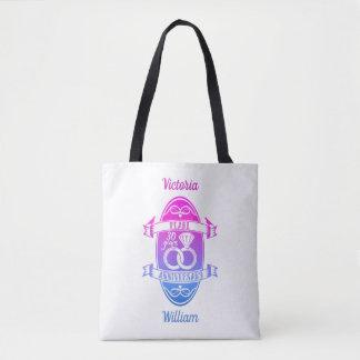 30 traditional pearl 30th  wedding anniversary tote bag