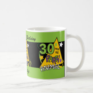 30 Year Old Party Animal Classic White Coffee Mug