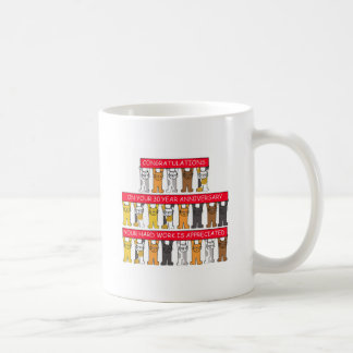 30 year work anniversary congratulations coffee mug