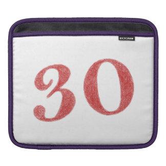 30 years anniversary iPad sleeves