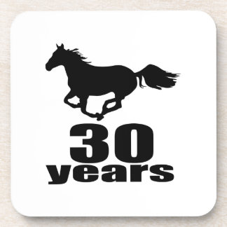30 Years Birthday Designs Coaster