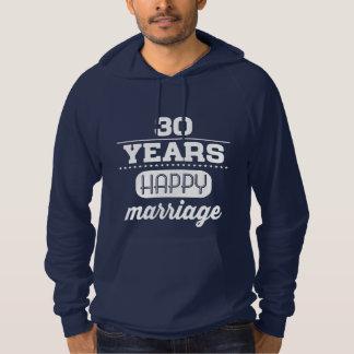 30 Years Happy Marriage Hoodie