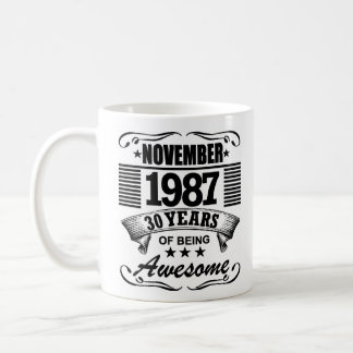30 Years Of Being Awesome Coffee Mug
