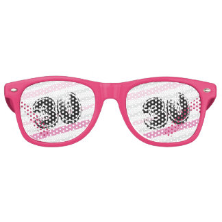 30 yr Bday Pink - 30th Birthday Party Sunglasses