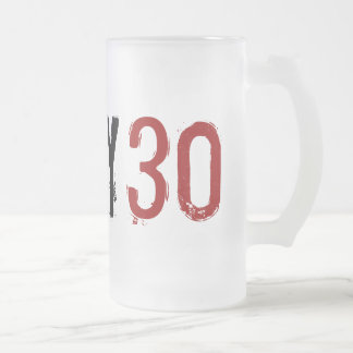 30ème anniversaire - 30 sales - tasse