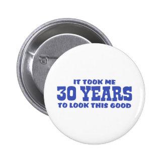 30ème Anniversaire Pin's Avec Agrafe
