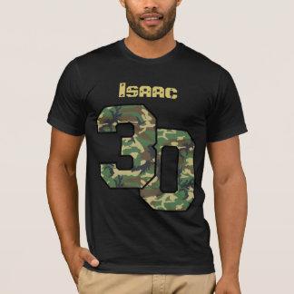 30ème Nom fait sur commande V034 de camouflage T-shirt