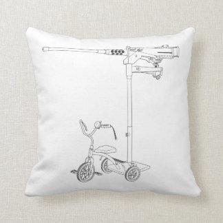 30MM Trike Throw Pillow