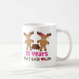 30th Anniversary Gift For Her Coffee Mug
