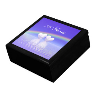 30th Anniversary Pearl Hearts Gift Box