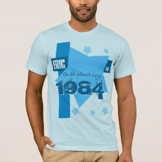 30th Birthday 1984 Or Any Year HUES of BLUE V05 T-Shirt