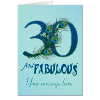 30th Birthday Cards