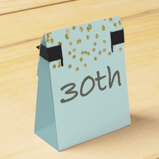 30th Birthday Confetti Favor Box