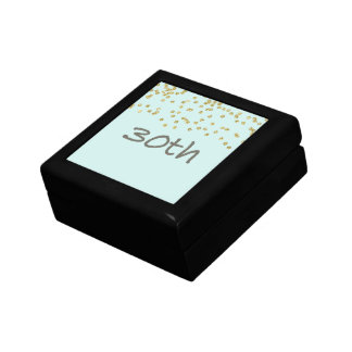 30th Birthday Confetti Gift Box