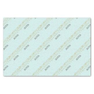 30th Birthday Confetti Tissue Paper