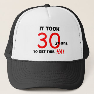 30th Birthday Gag Gifts Hat for Men