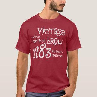 30th Birthday Gift 1983 Vintage Brew Red Wine G214 T-Shirt