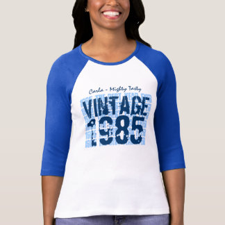 30th Birthday Gift Best 1985 Vintage Grunge V007D T-Shirt