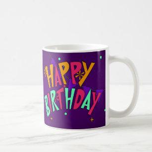 30th Birthday Gift Mug With Cake Coffee