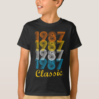 30th Birthday Gift Vintage 1987 T-Shirt for Me
