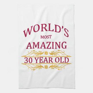 30th. Birthday Kitchen Towel
