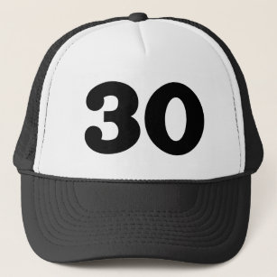 30th Birthday Party Trucker Hat