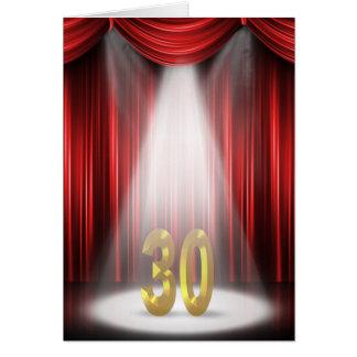 30th Birthday Spotlight Card