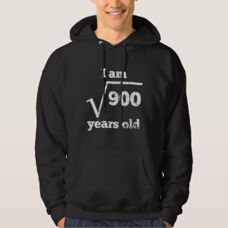 30th Birthday Square Root Hoodie