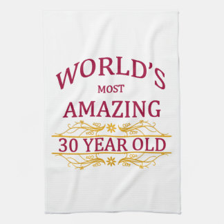 30th. Birthday Towels