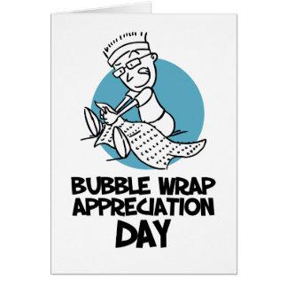 30th January - Bubble Wrap Appreciation Day Card