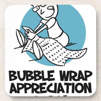 30th January - Bubble Wrap Appreciation Day Coaster