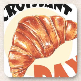 30th January - Croissant Day Coaster