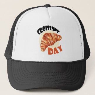 30th January - Croissant Day Trucker Hat