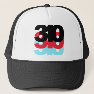 310 Area Code Trucker Hat