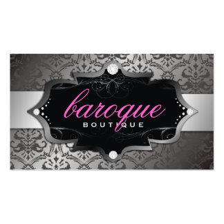 311-Baroque Boutique Sweet Pink Business Cards