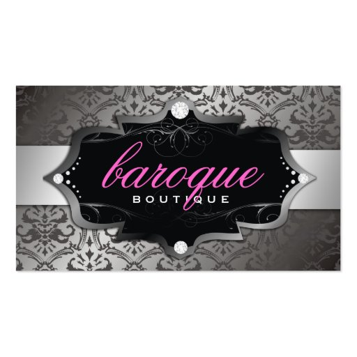 311-Baroque Boutique | Sweet Pink Business Cards
