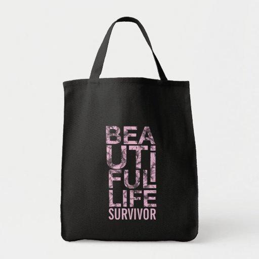 311 Beautiful Life Cancer Survivor Bags