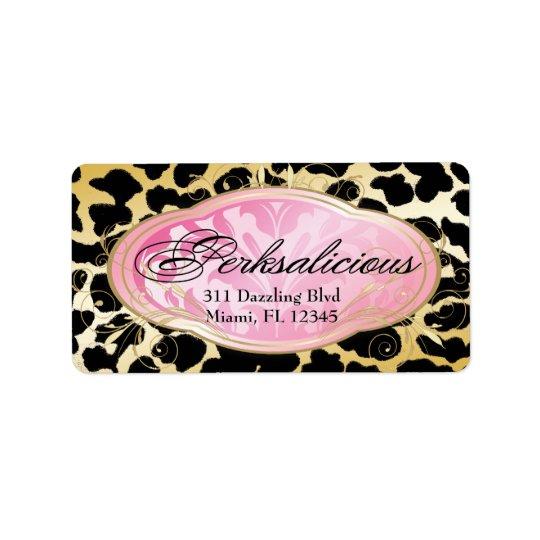 311 Bodacious Boutique Leopard Label