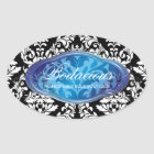 311 Bodacious Boutique Sapphire Stickers
