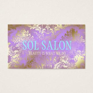 311 Boho Sol Lilac Purple Spa, Salon or Boutique Business Card