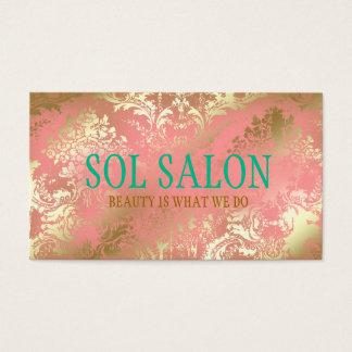 311 Boho Sol Peach Spa, Salon or Boutique Business Card