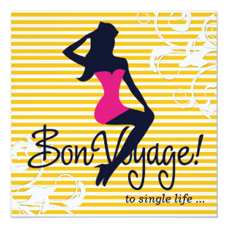 311 Bombshell Silhouette Nautical Theme Lingerie Card