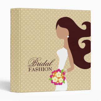 311-Bridal Cutie | Brunette 3 Ring Binders