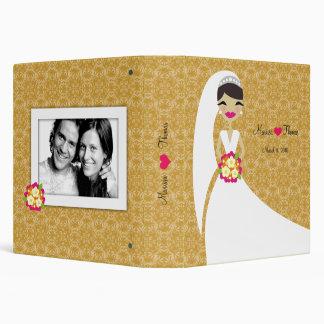 311-Brunette Bride Golden Delicious 3 Ring Binder