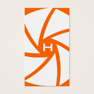 311-CAMERA READY | HOTT Orange Business Card