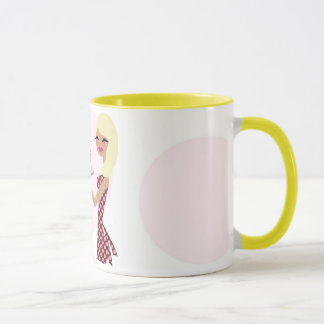 311-CAndie Cupcake Cutie | Wavy Blonde Mug