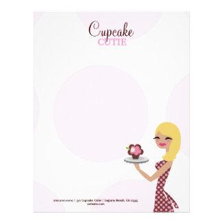 311-Candie the Cupcake Cutie | Blonde Letterhead