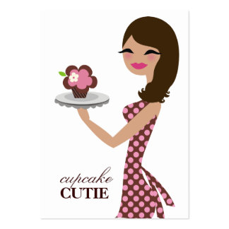 311 Candie the Cupcake Cutie V2 Large Business Cards (Pack Of 100)