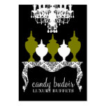 311 Candy Budoir Rococo Olive Green Pack Of Chubby Business Cards