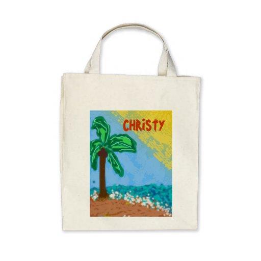 311-CHRISTY'S BEACH CUSTOMIZABLE BAG